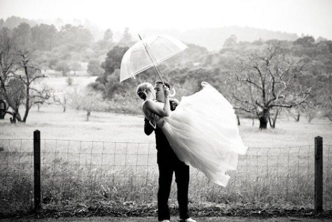 Tips para que tus fotos de boda bajo la lluvia queden lindas - Gia Canali Photography