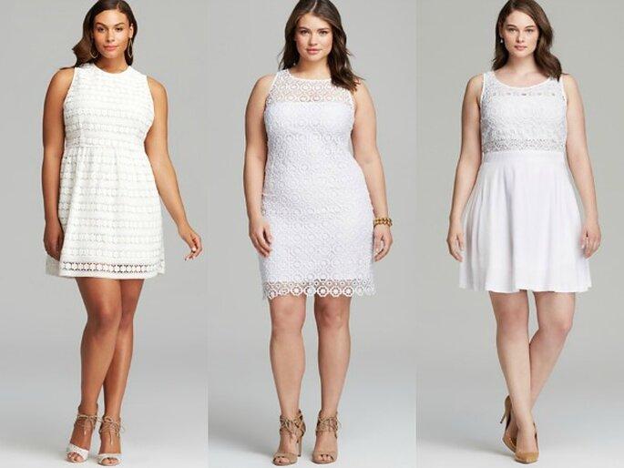Vestidos de novia para chicas plus size - Foto Bloomingdales