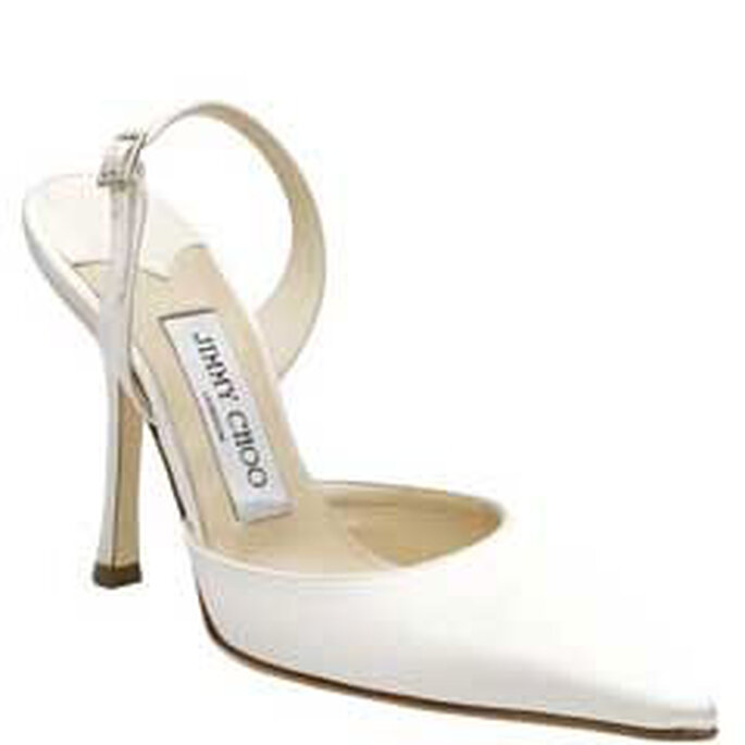 Zapato Jimmy Choo para novias un clásico muy elegante