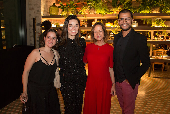 Laura Vilela, Tissi Balboa, Jaqueline Barreto e Naldo Turl