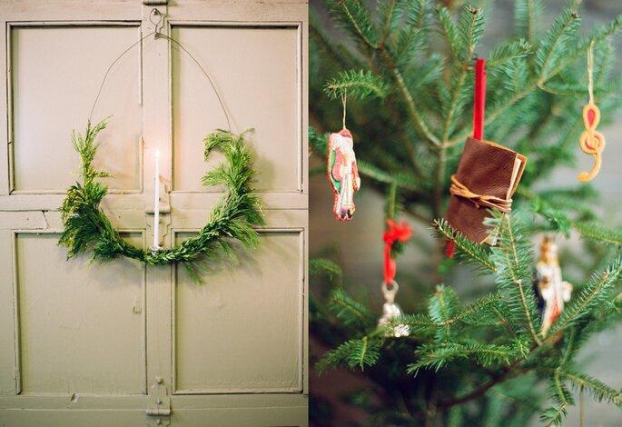 decoración boda de Navidad3