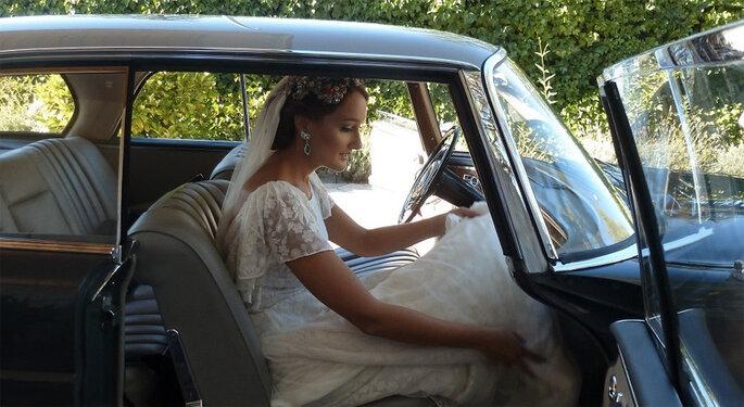 Vestidos de novia transparentes
