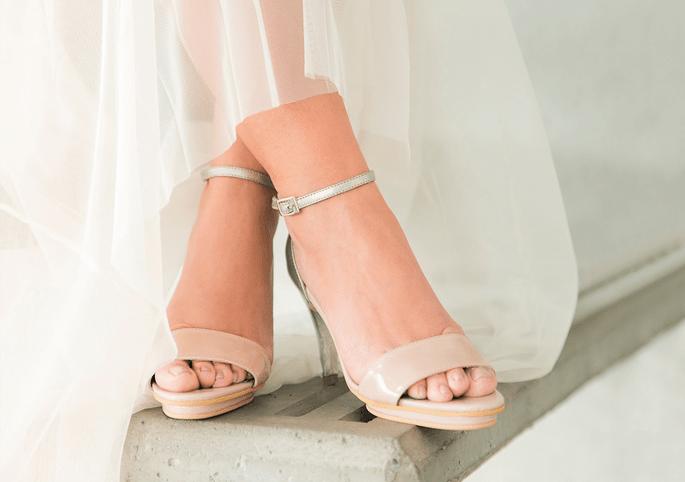 los zapatos de novia perfectos según el corte de tu vestido ¡aquí te