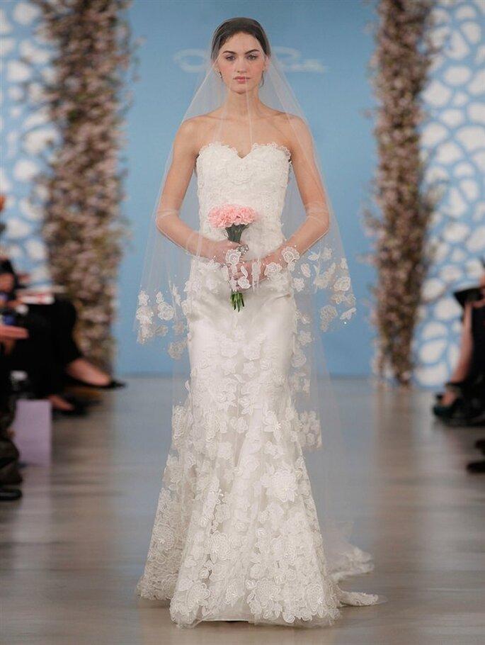 Vestido de novia Amelia de Oscar de la Renta 2014. Foto: www.oscardelarenta.com