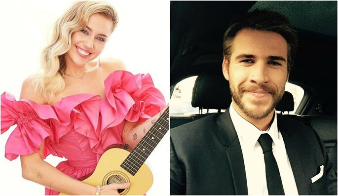 Fotos: Instagram @mileycyrus y @liamhemsworth