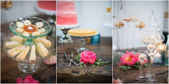 Lo sweet corner di Gino Fabbri allestito da Anna Rosso Eventi - Tra Moglie e Marito - Foto: Infraordinario Wedding