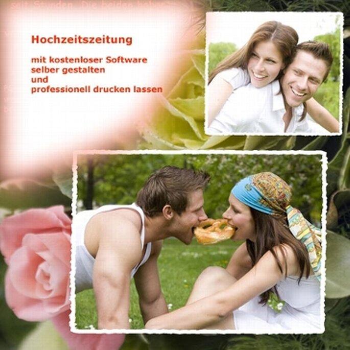 So schaffen Sie einfach eine Hochzeitszeitung – Foto: weddix.de