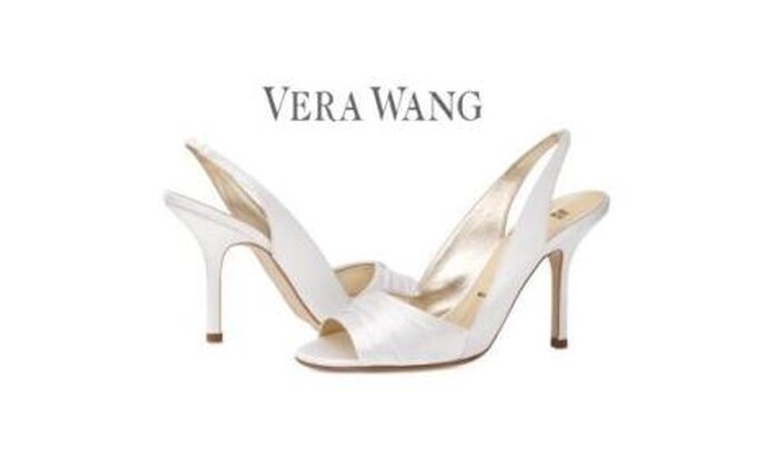 Colección de zapatos de novia Vera Wang 2010