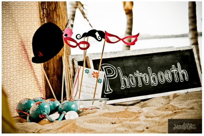 Elige lindos antifaces para un divertido photoshoot - Foto Soko Sandoval