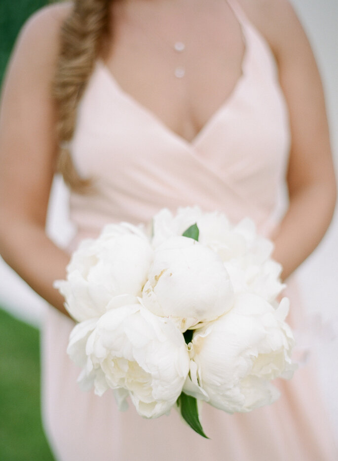 ramos en color blanco - Rebecca Yale Photography