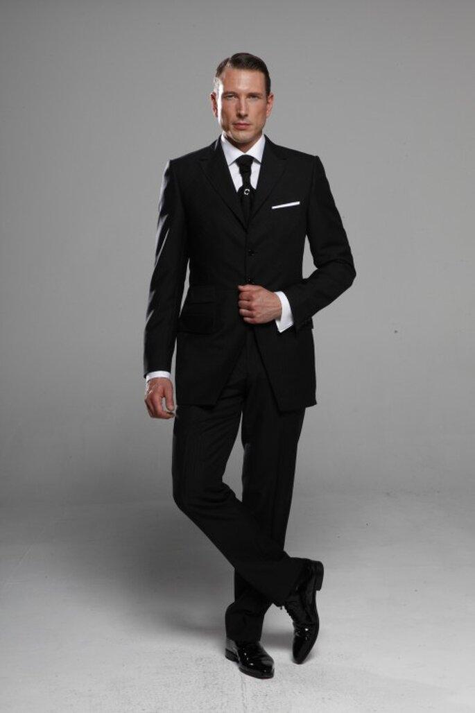 Costume personnalisable, quoi de plus élégant ?  - Photo : Kees Van Beers