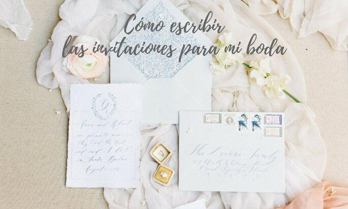 Cómo Escribir Las Invitaciones De Boda 5 Tips Para Redactar
