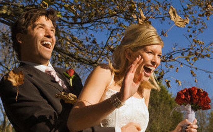 Une suprise pour les mariés le jour J