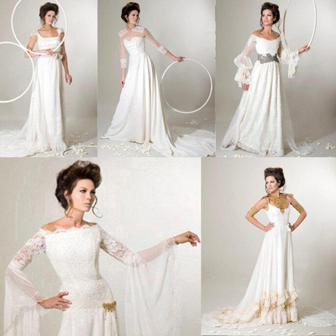 """""""La cosa più importante è che la sposa scelga un abito che rientri nel suo stile"""", consiglia la Gaviño. Foto: Inmaculada Puchal"""