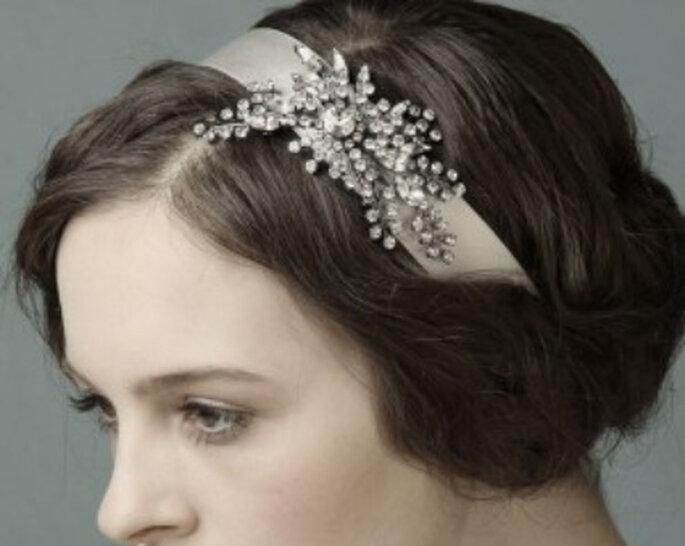 Los peinados de novia estilo vintage son tendencia en 2011