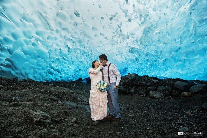 foto de casamento artística