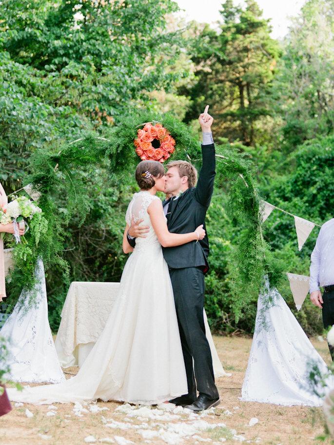 Las fotos de boda con los besos más románticos - Foto Daniel Kim Photography