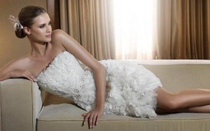 Colección de vestidos de novia cortos 2011