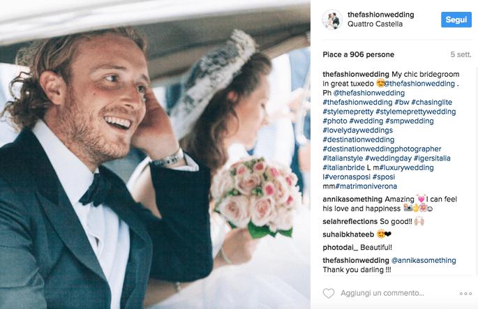 Foto via Instagram @thefashionwedding