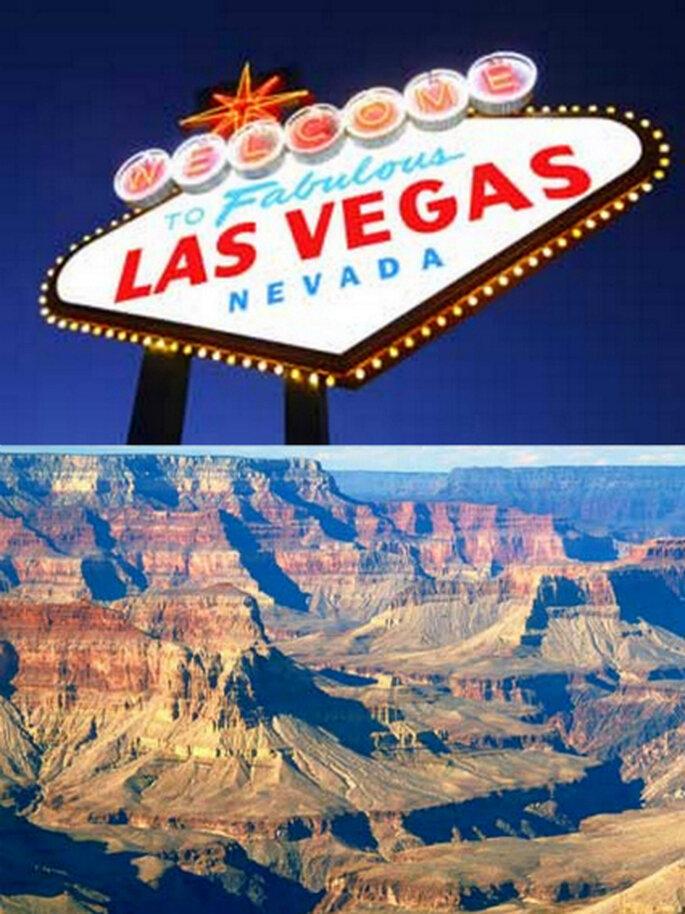 O glamour de Las Vegas para a lua de mel
