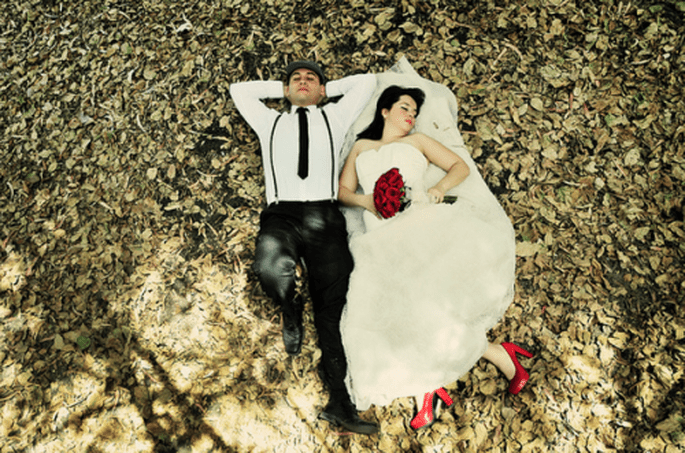Sesión Trash the Dress de Angie y Rodrigo en Jalisco - Foto Casa Fragma