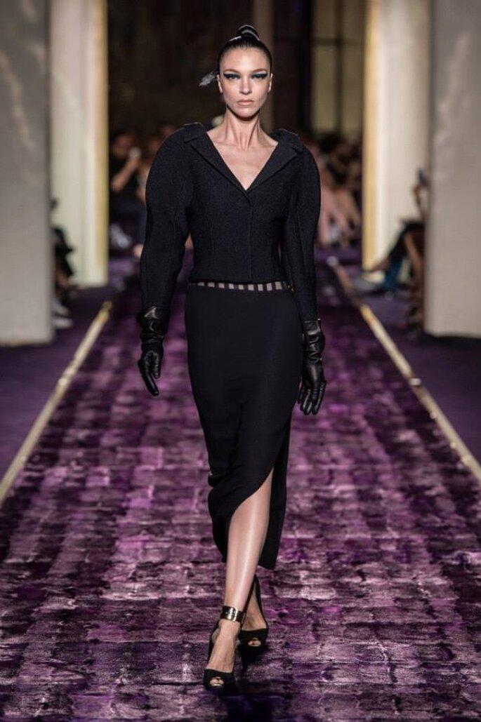 Vestidos de fiesta alta costura otoño 2014 - Foto Versace