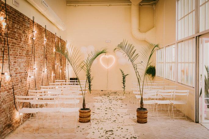 Decoración de tu ceremonia de matrimonio