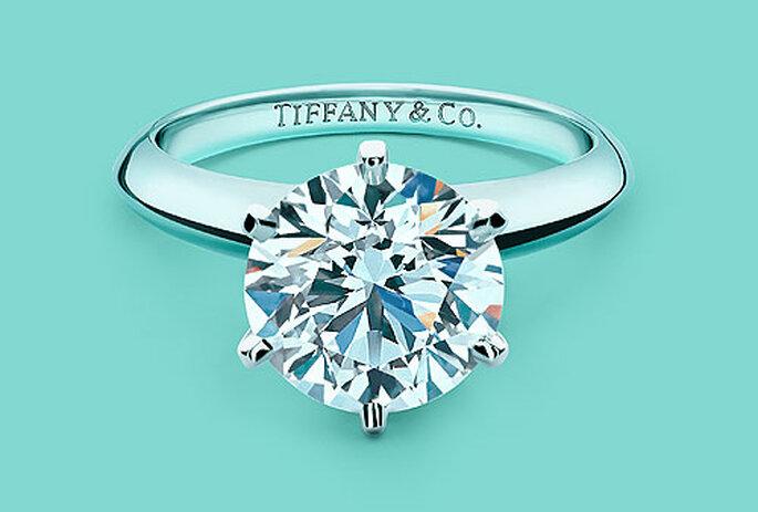 Pon un diamante en tu boda. Foto: Tiffany