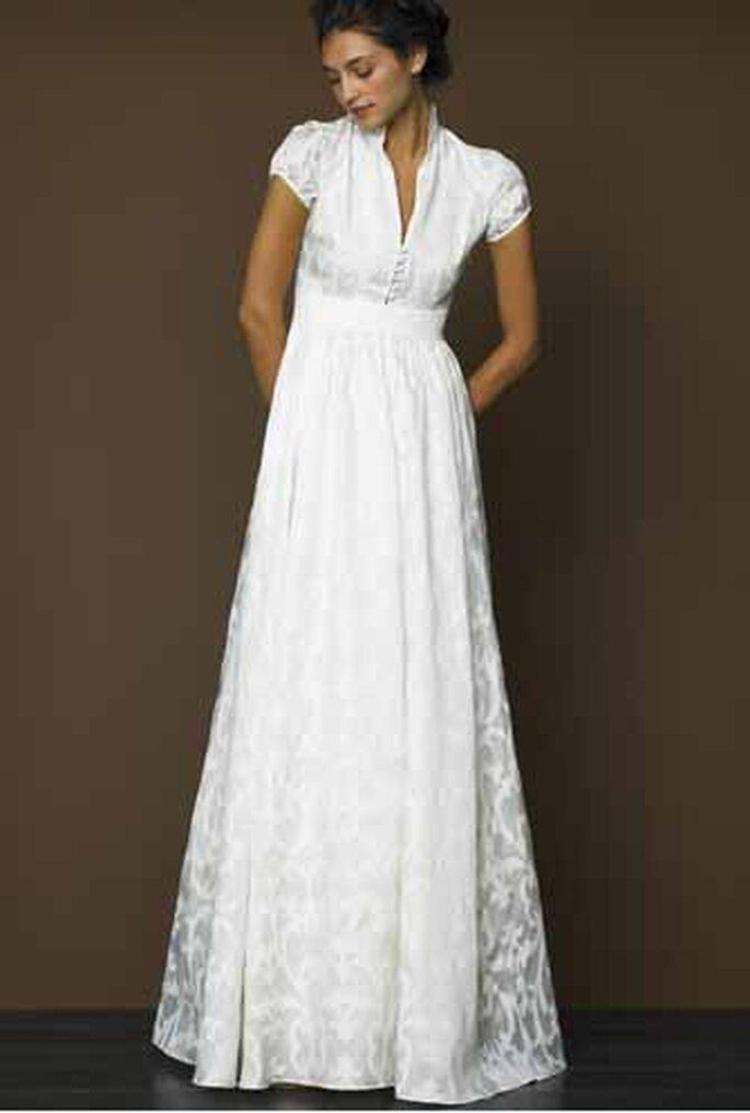 9 robes de mari e simples et l gantes une s lection zankyou for Qu est ce qu une robe de trompette