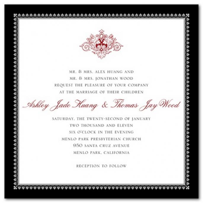 Elige tonos más dramáticos, pero conserva la elegancia - Foto Wedding Paper Divas