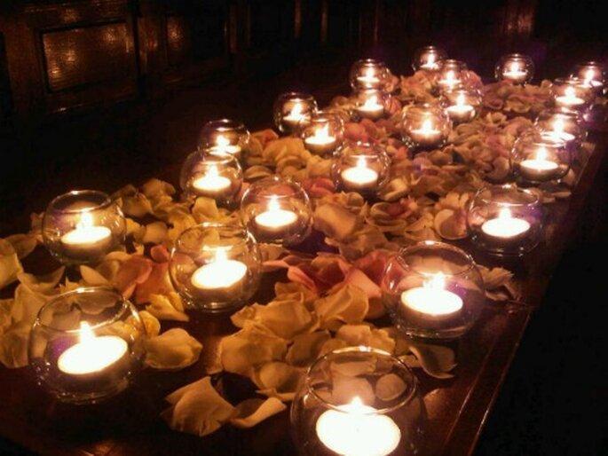 Lumière et éclairage : des points clés pour la décoration de mariage - Photo : MS AND JO