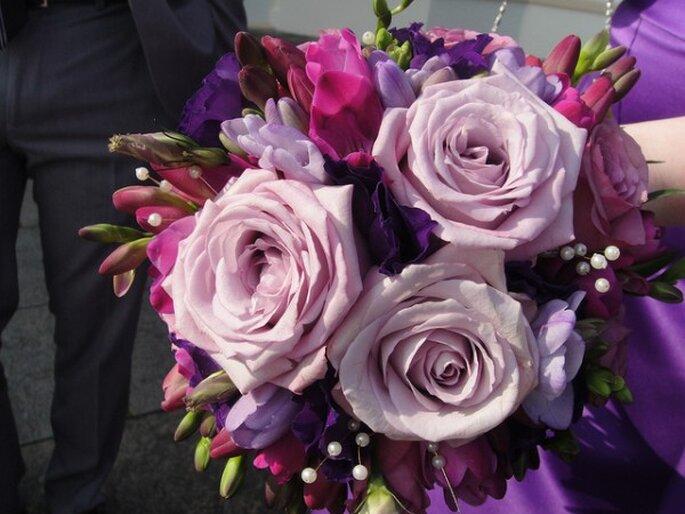 Los ramos de novia más bonitos para este 2014 - Foto Rosie