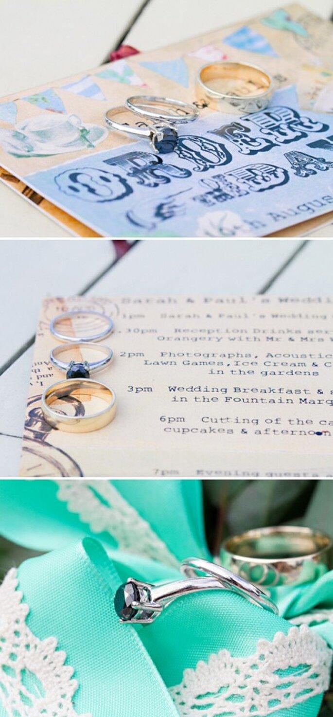 Incorpora el color menta en la decoración de tu boda - Foto HBA Photography