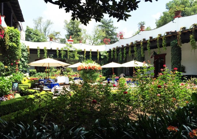 Los 10 mejores restaurantes para tu boda en m xico df for Jardines bodas df