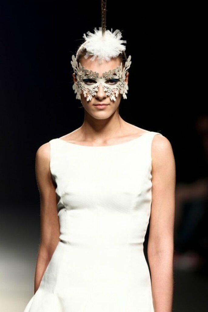 Máscara mariposa - Colección Franco Quintas 2012