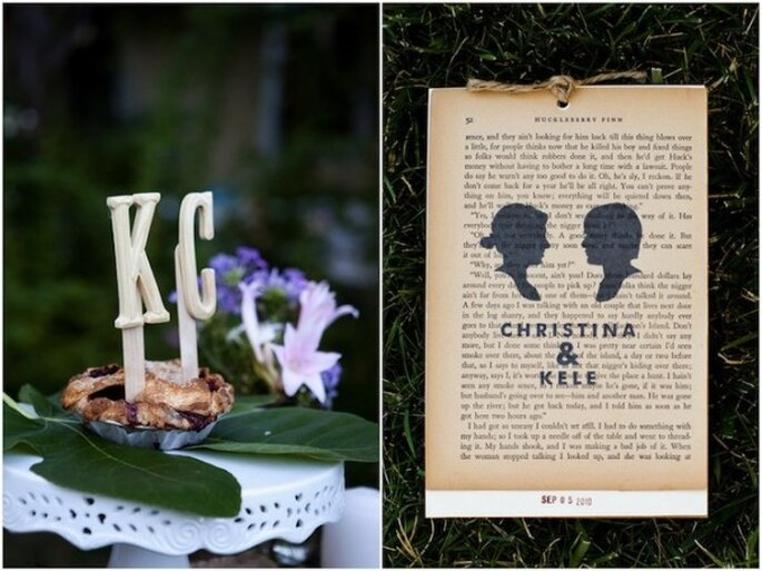 Decoración con siluetas para tu boda - Foto Lovebird Photography