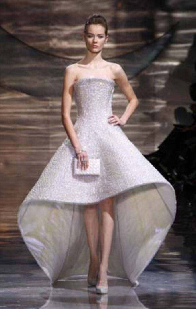 Vestidos de novia Armani 2011, diseñador del vestido de novia de Charlene Wittstock