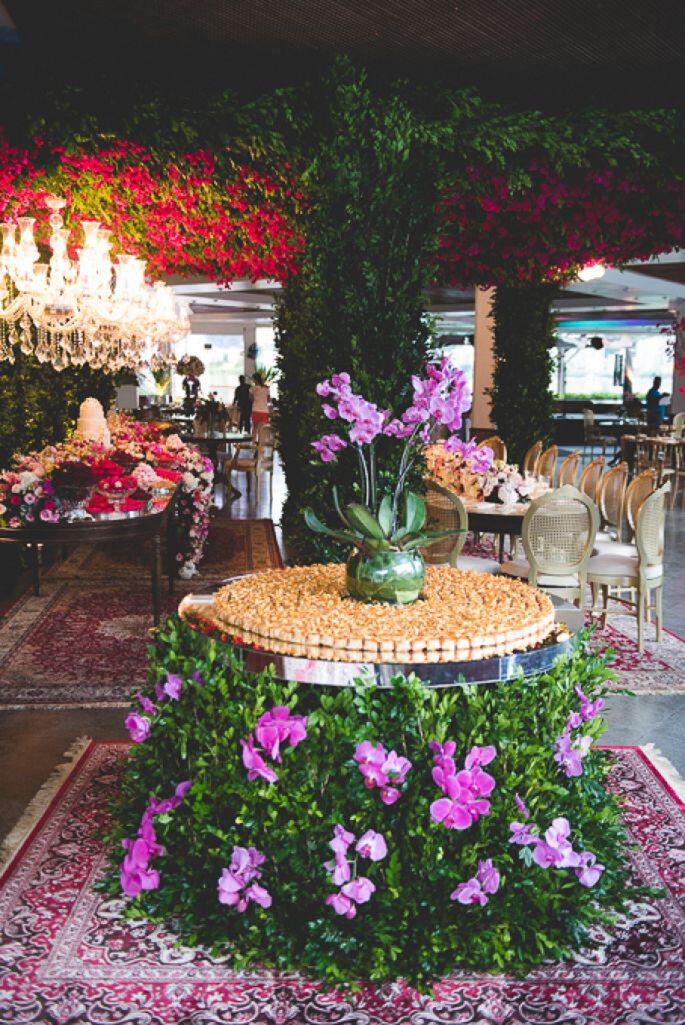 casamento decoração jardim suspenso