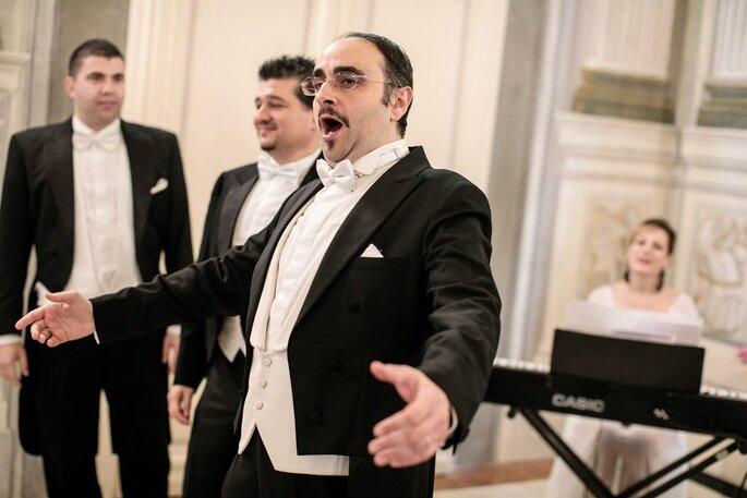 The Three Tenors in Florence, un emozionante accompagnamento musical