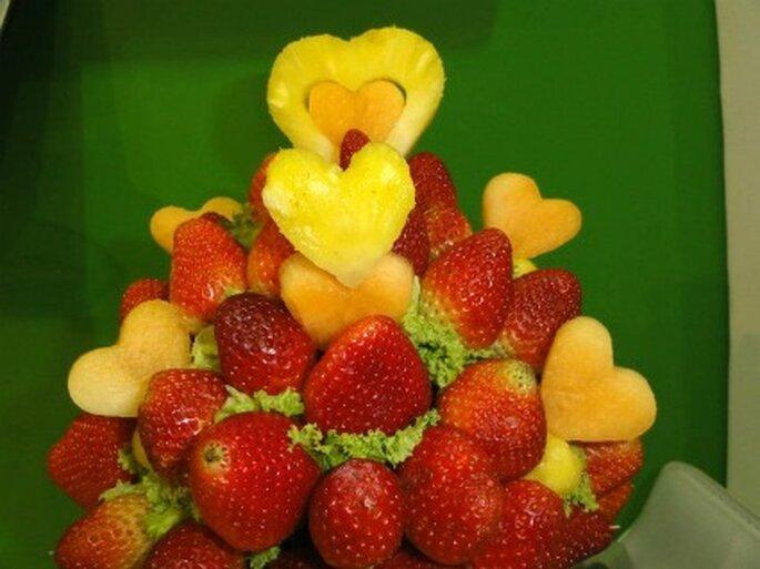 Con solo fresas                      Foto de Enfrutados