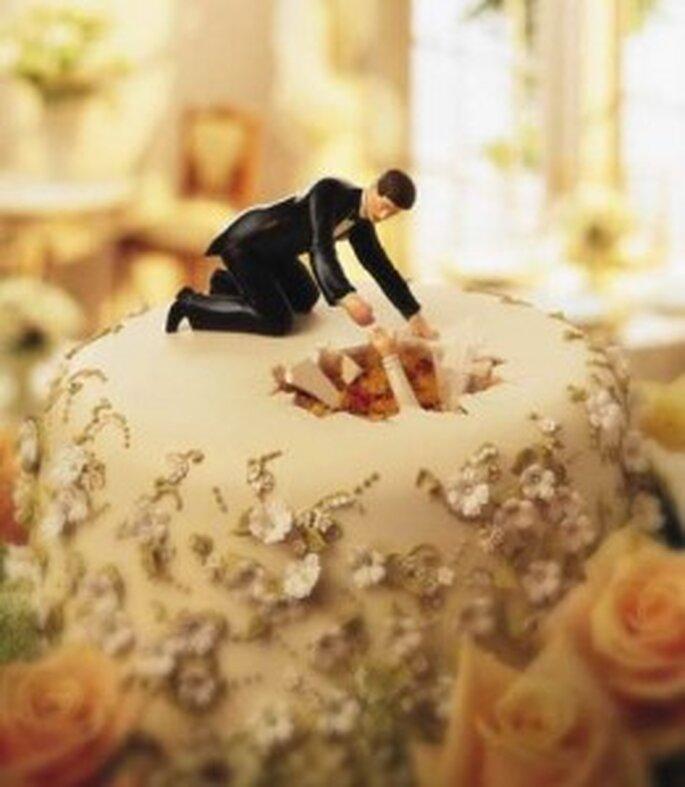 ... ed una divertentissima torta, per coppie dotate di humor!!