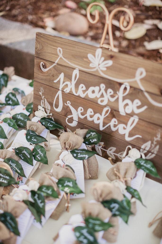 Flores e plantas como Lembrancinha de  casamento