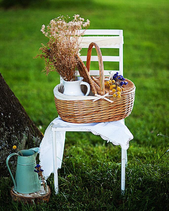 Los jarrones como decoración must en tu boda - Foto Instantánea y Tomaprimera