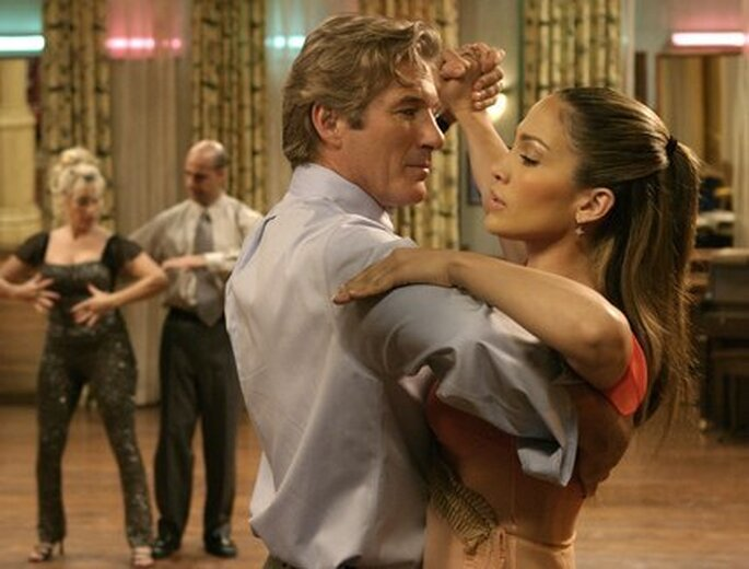Un tango per le vostre nozze, come Jennifer Lopez  e Richard Gere in 'Shall We Dance'. Foto via Youtube.com