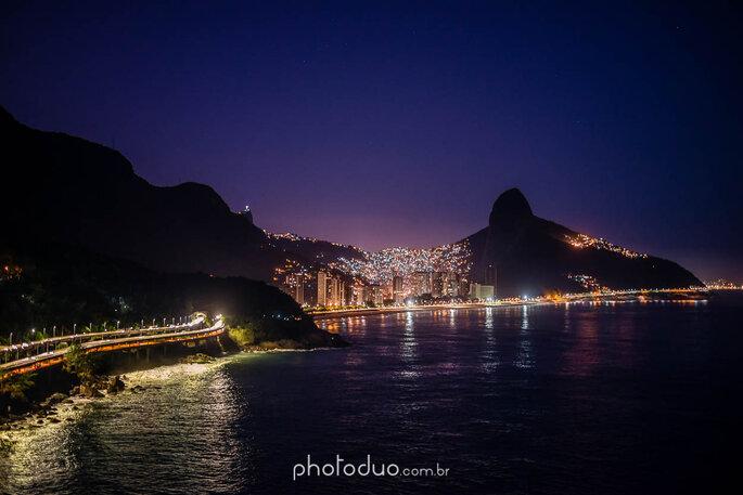 Casamento de frente para o mar no Rio de Janeiro