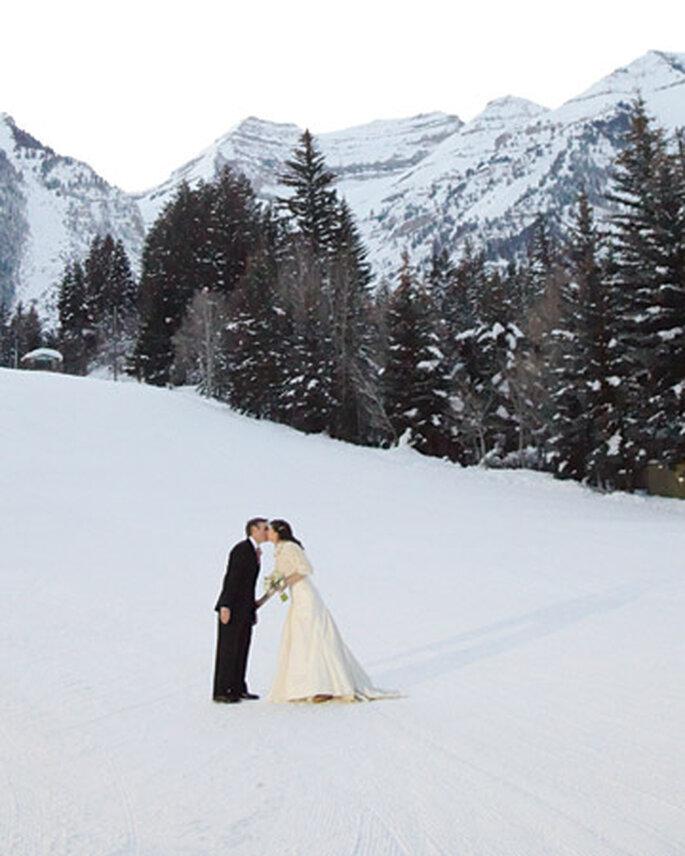Ecco svelato perchè molti scelgono un matrimonio in inverno... -foto: sposamania.it