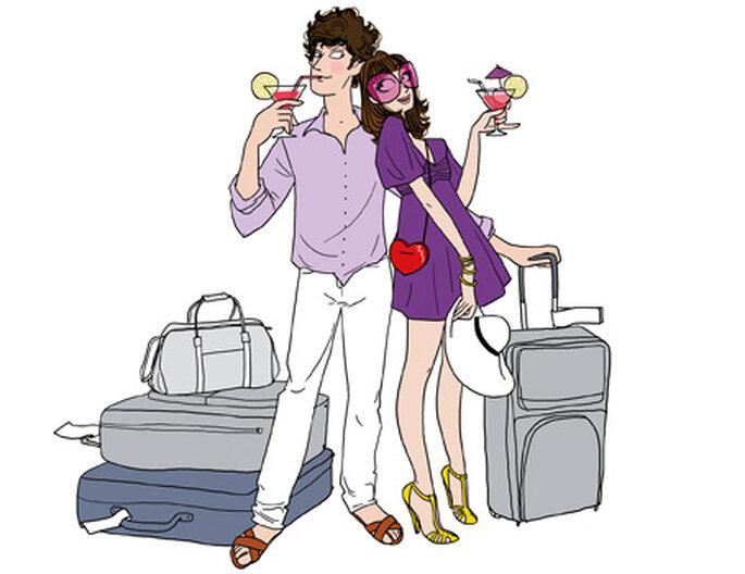 Top 10 de la liste de mariage voyage