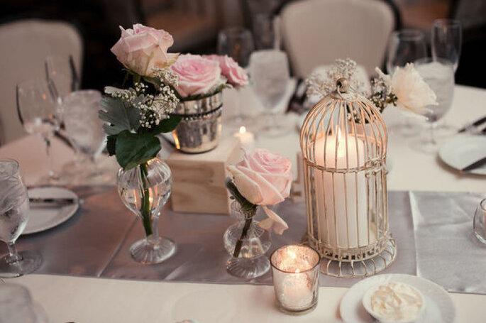 Detalles para una boda shabby chic - Robert & Kathleen Photographers.