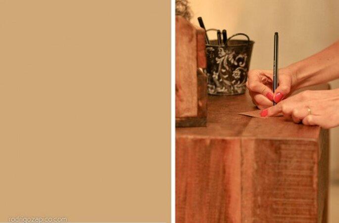Escribe mensajes de deseos para tu boda. Imagen Rodrigo Zapico