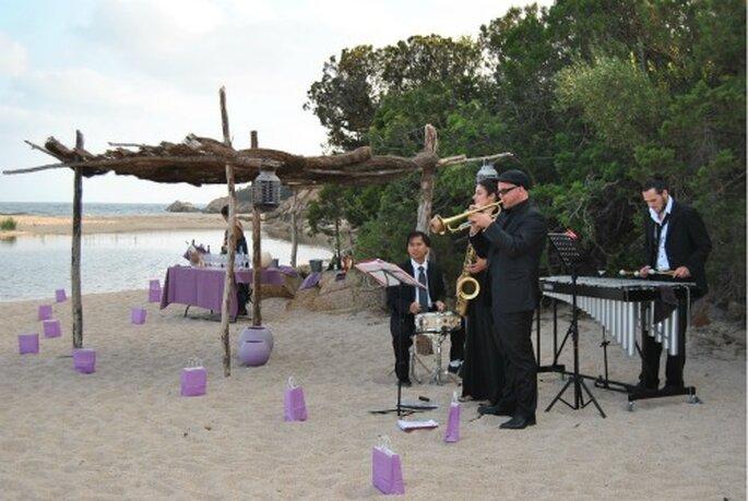 Original et convivial : l'orchestre de mariage